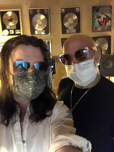 Brett Hanging with Kenny Aronoff